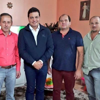 Em Rio Azul com os nossos vereadores Sérgio, Cézar e Jair