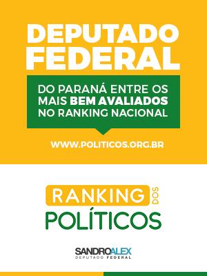 Ranking dos Politicos